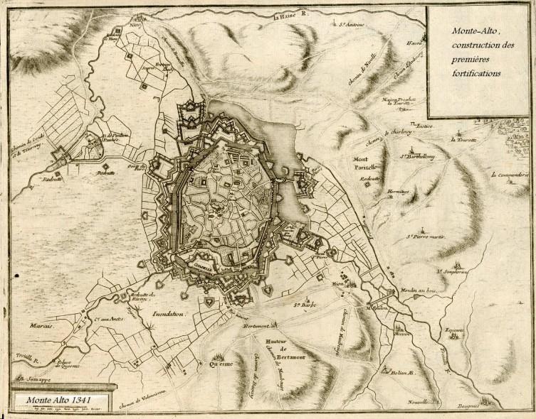 plan medieval