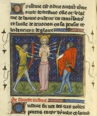 sainte biaffine martyr