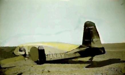 avion posé