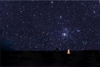 désert nuit